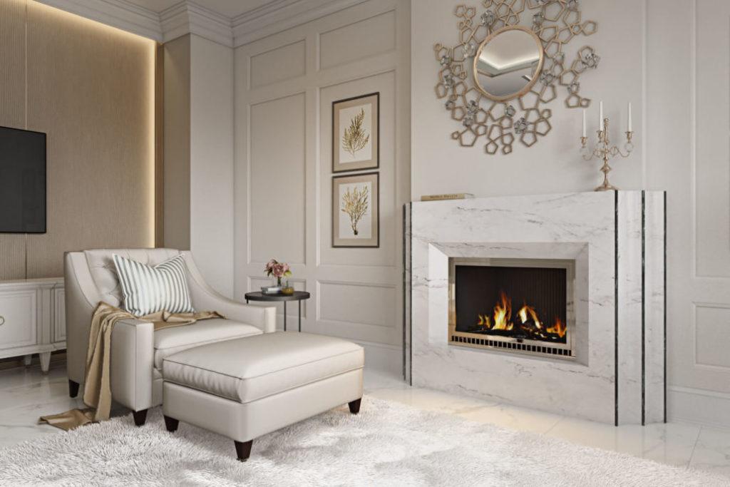 Белый цвет в интерьере для стильного жилья