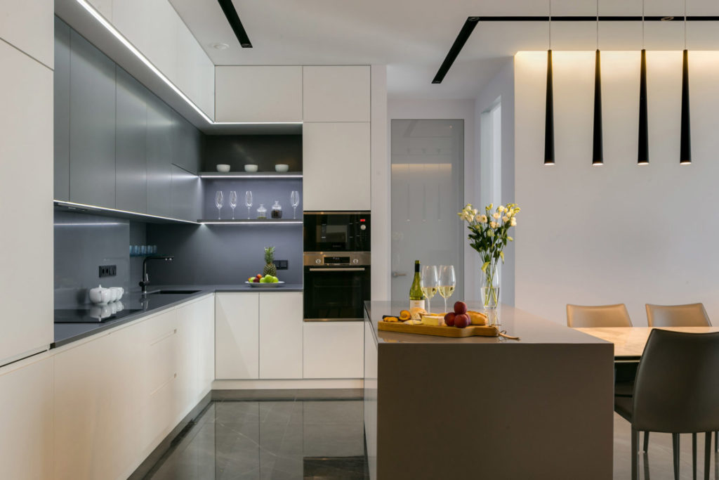 Планировка кухни в современной квартире