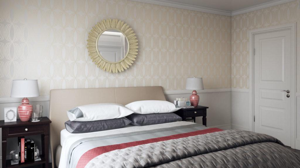 Экологичные обои для дизайна спальни