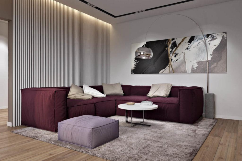 Обои и окраска стен: комбинированное решение