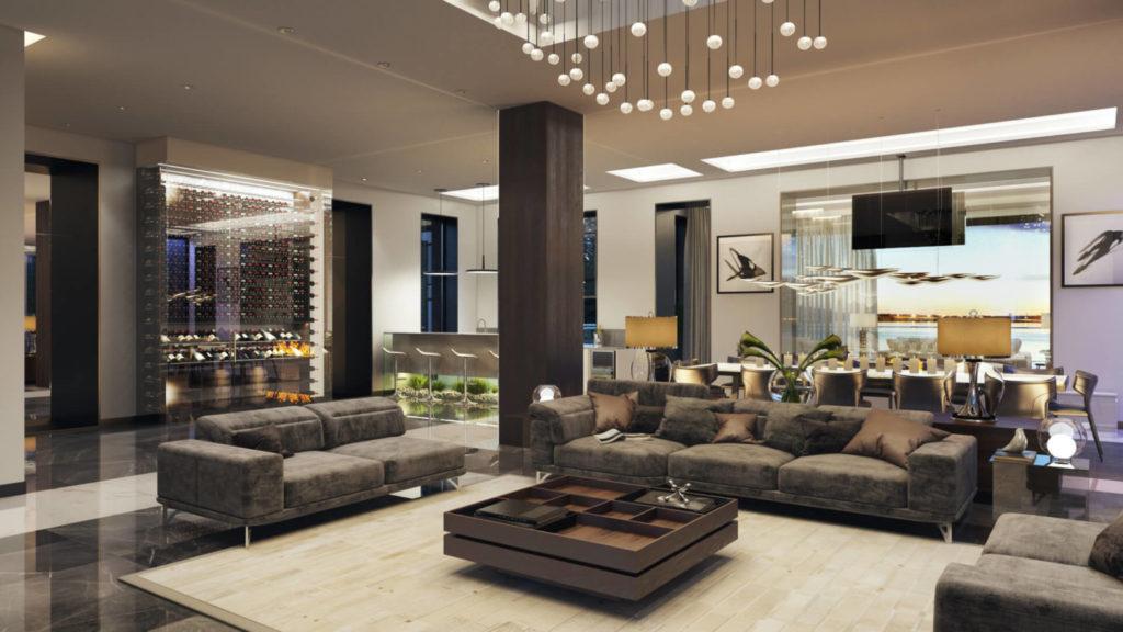 Сэкономить на ремонте квартиры: проект гостиной