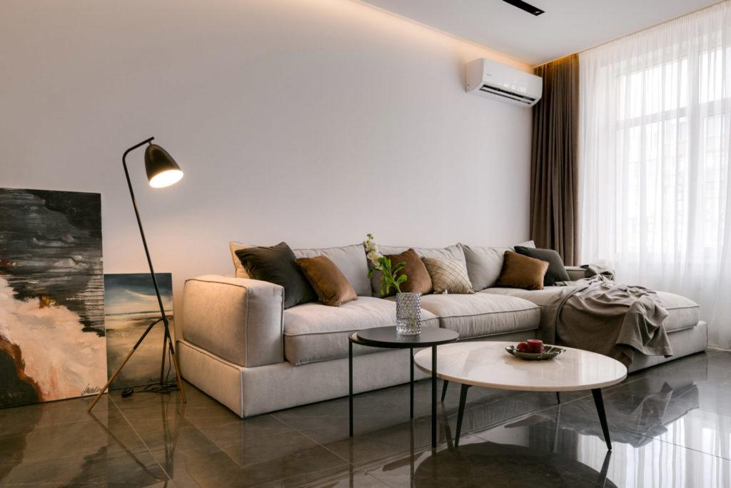 Ремонт квартиры на Печерске с дизайнерским сопровождением