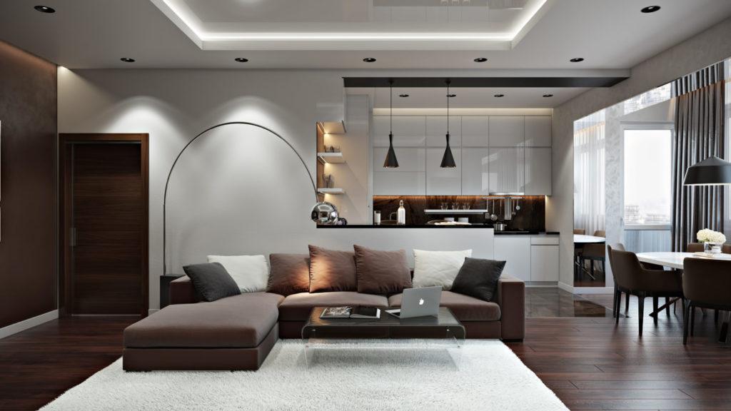 Проект для ремонта квартиры-студии под ключ
