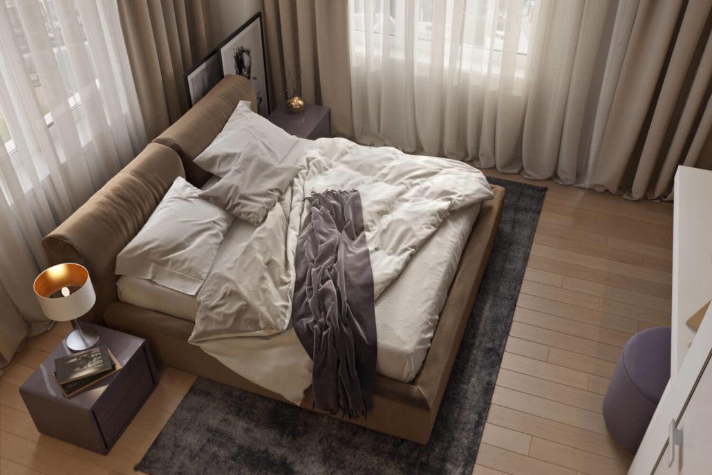 Пять приемов для эффектного дизайна спальни
