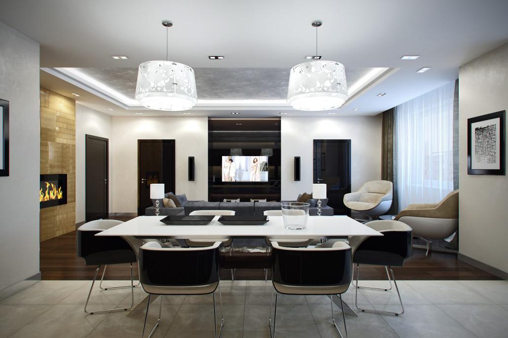 Как оформить эффектное освещение в интерьере квартиры