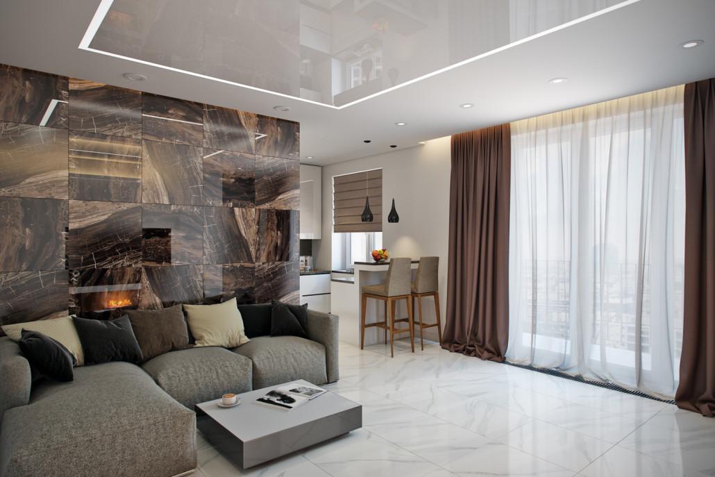 Создание уютного дизайна интерьера гостиной