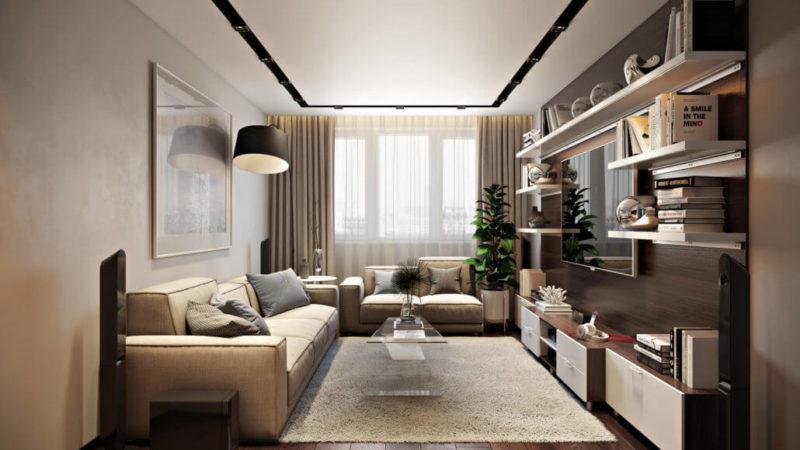 Первый секрет уютного дизайна гостиной - камин View03