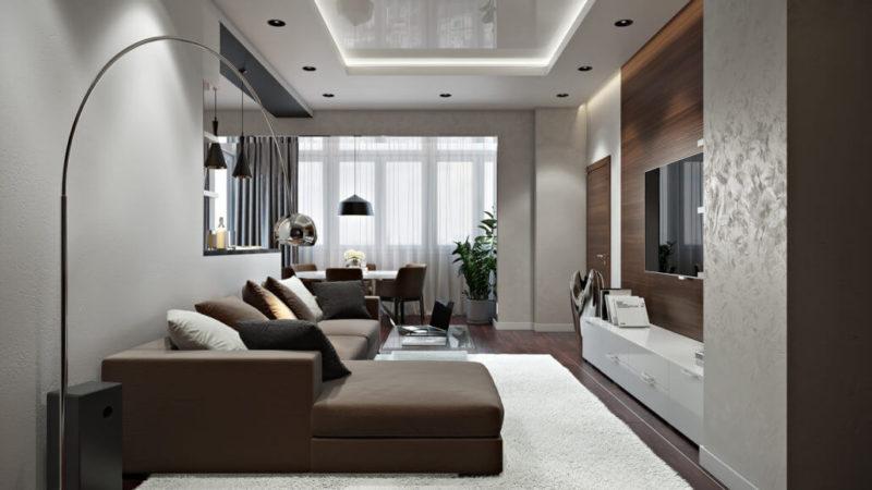 Секреты уютного дизайна гостиной - View08