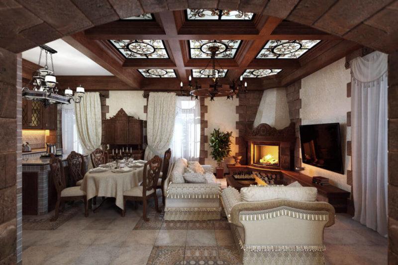 Секреты уютного дизайна гостиной - View11