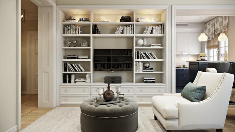 Белый цвет в интерьере: правильные оттенки в интерьере гостиной