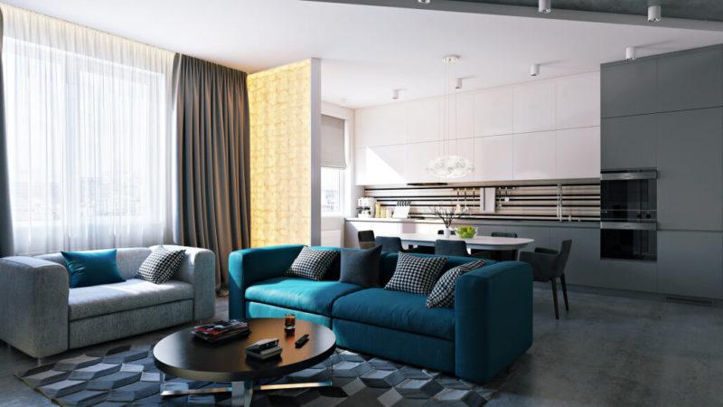 Диван, который украсит Вашу комнату: критерии выбора. Цвет