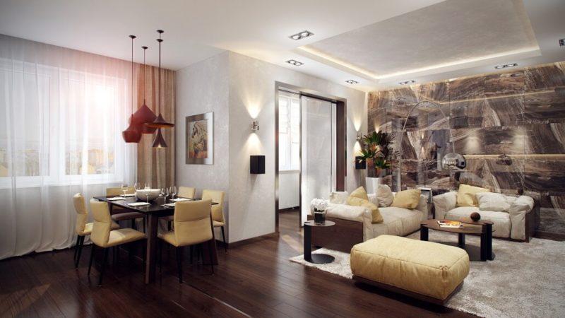 Дизайн-проект однокомнатной квартиры-студии