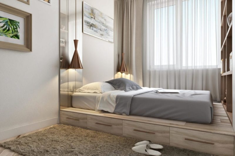 Интерьер спальни: светлые тона для гармонии и уюта