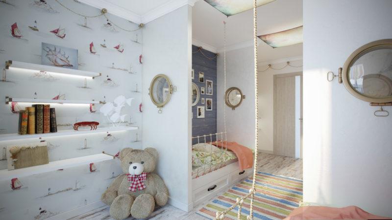 Натуральные материалы для уютного интерьера детской
