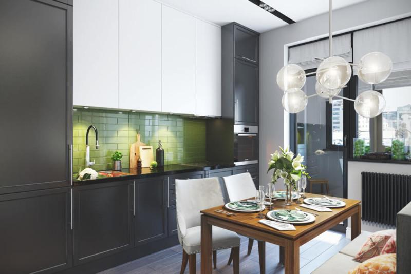 Стильный ремонт кухни