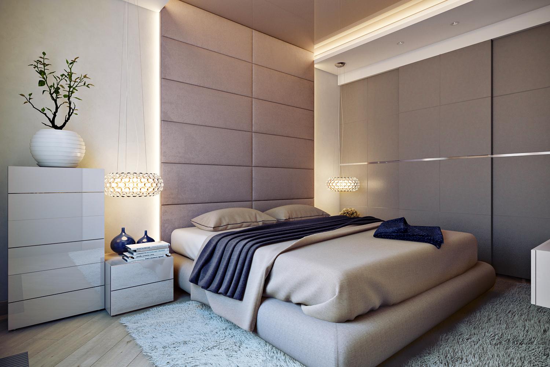 Функциональный дизайн современной спальни