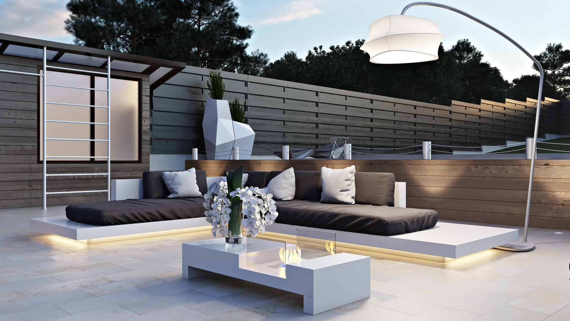 Дизайн зоны отдыха в частном доме