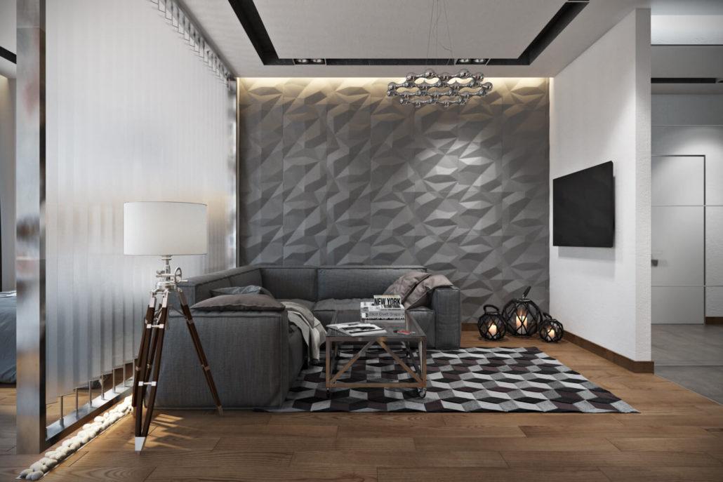 Геометрия для яркого декора интерьера