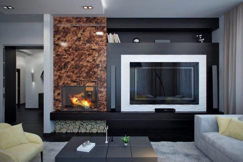 Исчезающий телевизор для декора интерьера