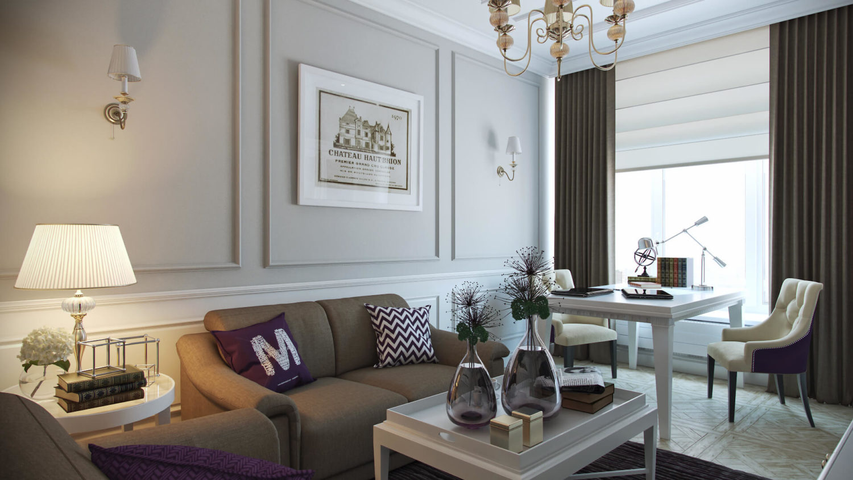 Уютный дизайн дома в классическом стиле View29