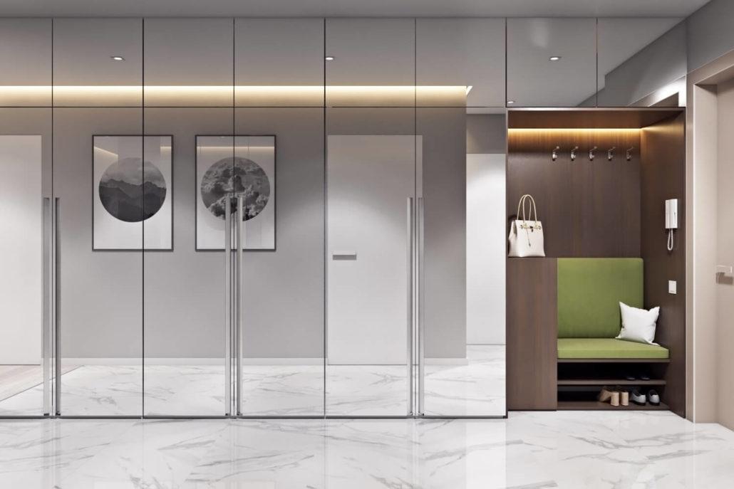 Стильный дизайн прихожей в квартире
