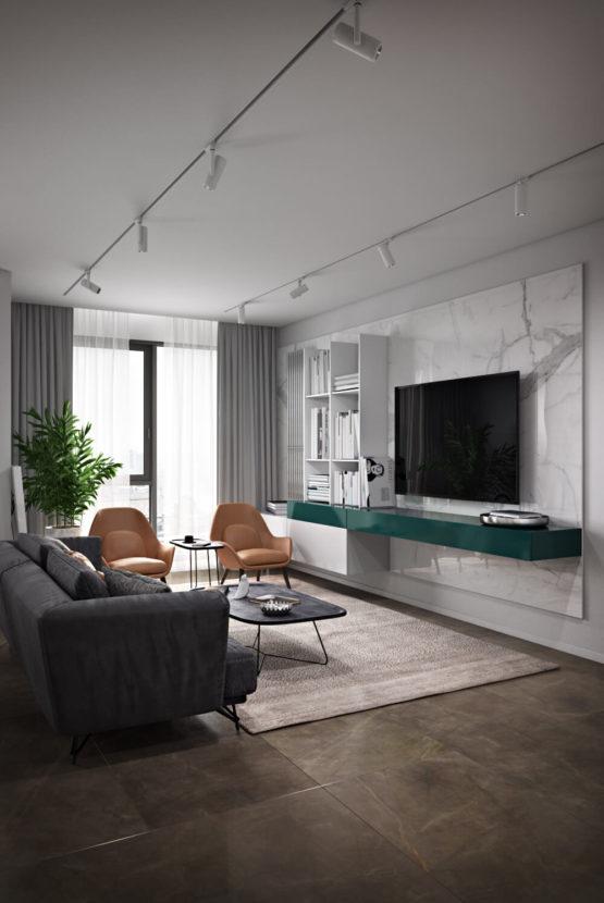 Дизайн-проект современной квартиры в Киеве