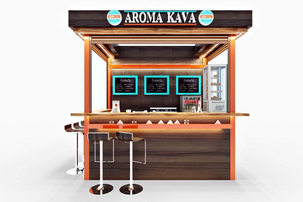 Дизайн-проект кофейни-острова