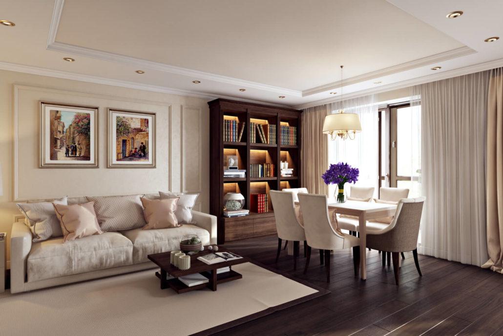 Эффектный и комфортный дизайн квартиры-студии Вид02