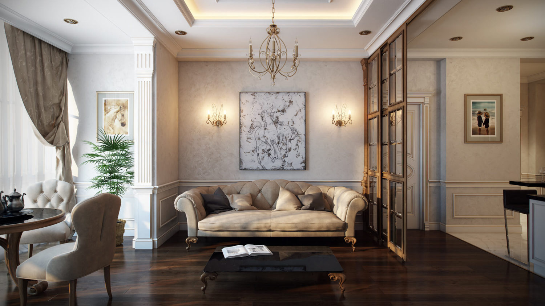Эффектный дизайн-проект квартиры для комфорта Вид05