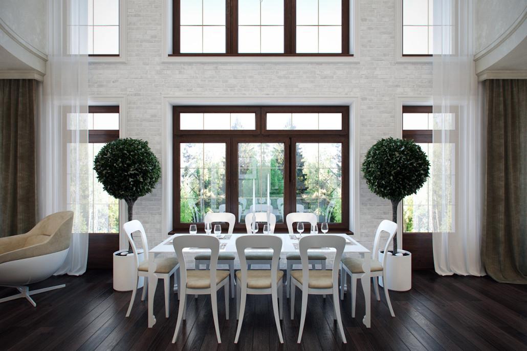 Эффектный и элегантный дизайн интерьера дома: Вид11