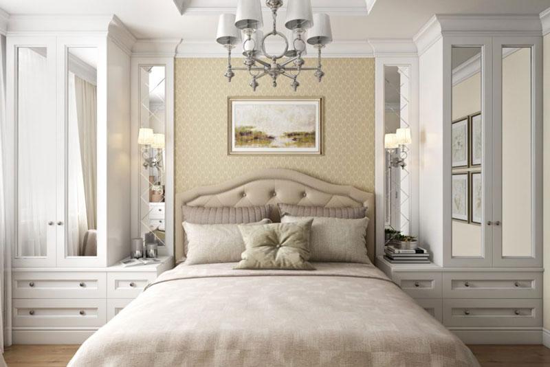 Дизайн-проект спальни в классическом стиле