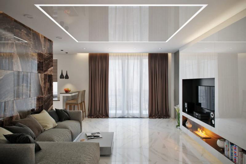 Дизайн интерьера современной квартиры в минимализме