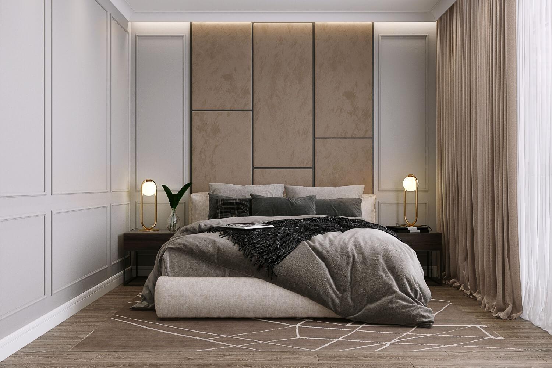 Дизайн-проект интерьера в стиле современной классики Вид08