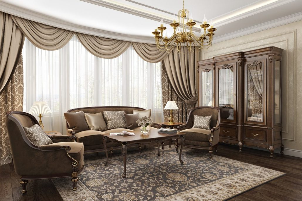Элегантный и роскошный дизайн квартиры Вид 02