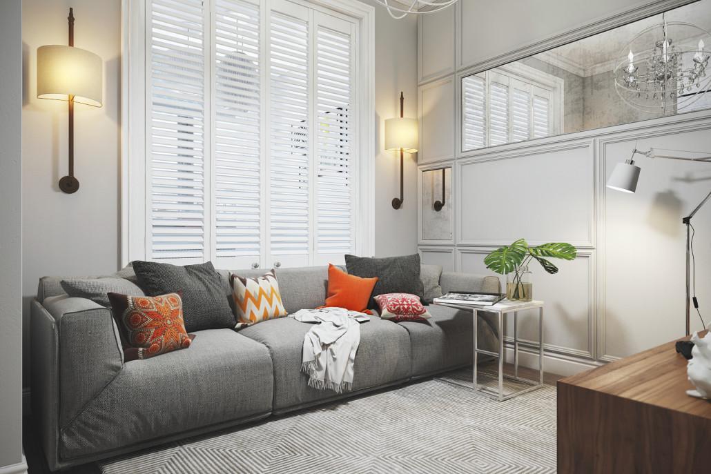 Дизайн интерьера уютной и гармоничной квартиры