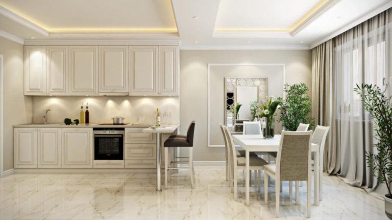 Функциональность мебели при выборе кухонного гарнитура