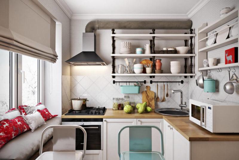 Подбор кухонного гарнитура для маленькой кухни