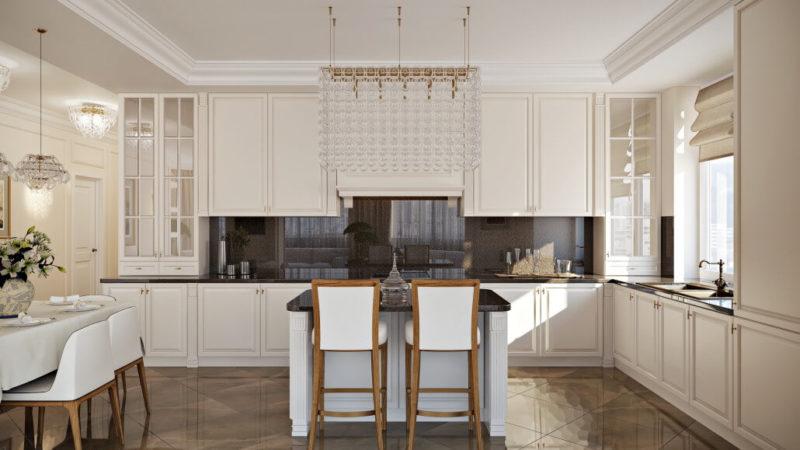 Подбор кухонного гарнитура под тип планировки