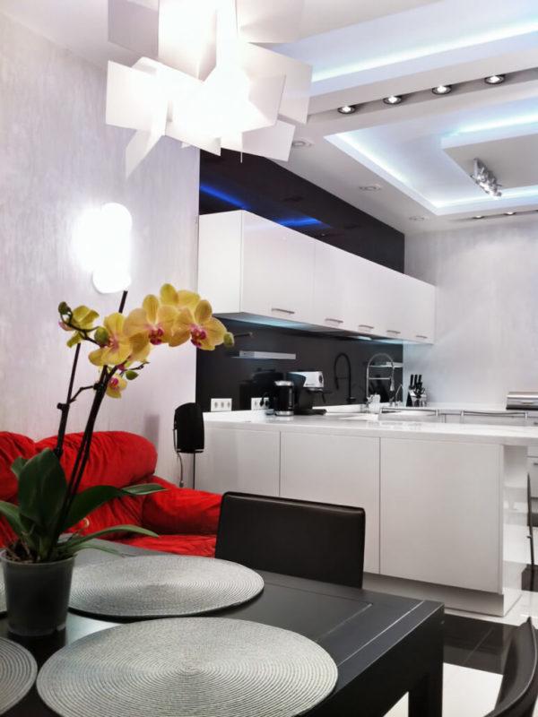 Цветовая гамма кухонного гарнитура для интерьера