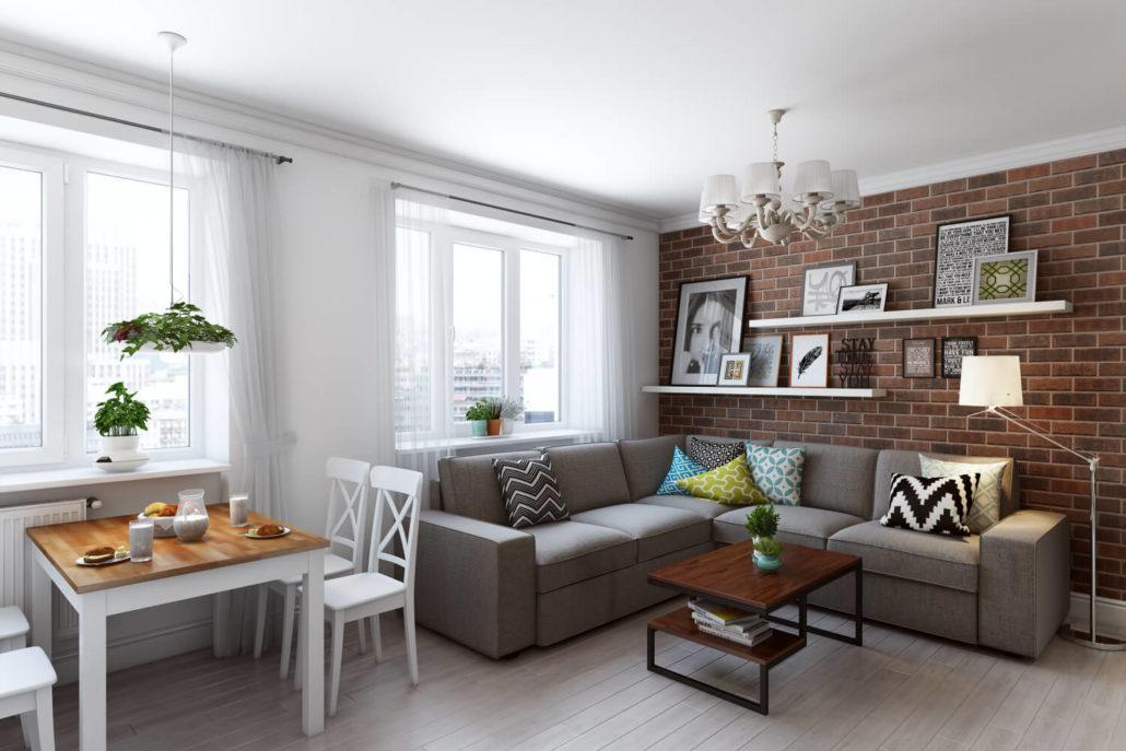 Восхитительно живой и яркий дизайн квартиры Вид 14