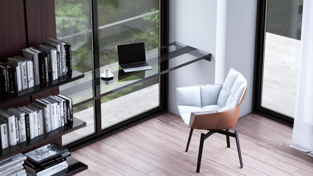 Мебель для рабочего места в спальне