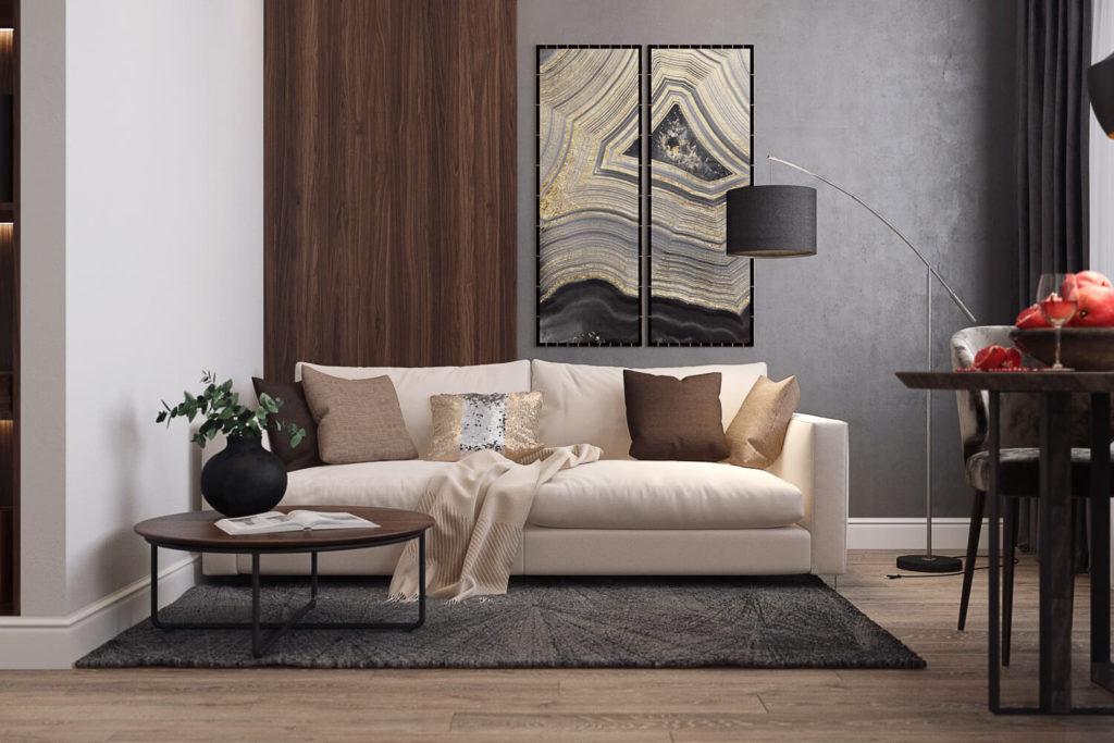 Подбор мебели и освещения для дизайн-проекта квартиры