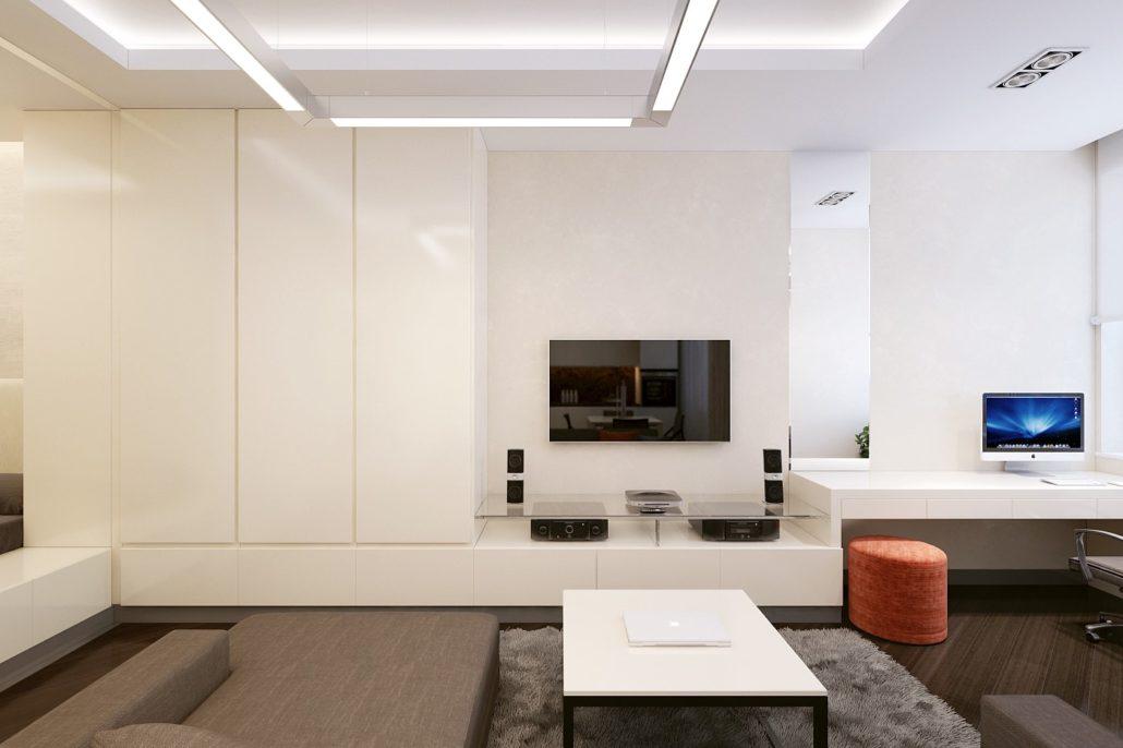 Трендовый дизайн интерьера в стиле минимализм
