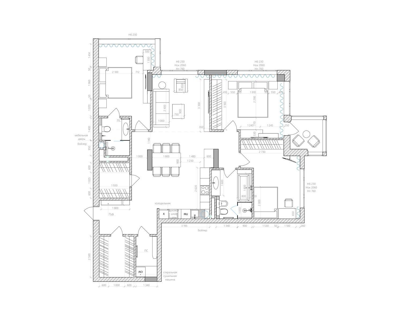 Детальный план квартиры