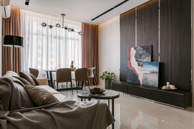 Комната, оформленная стилистом интерьера