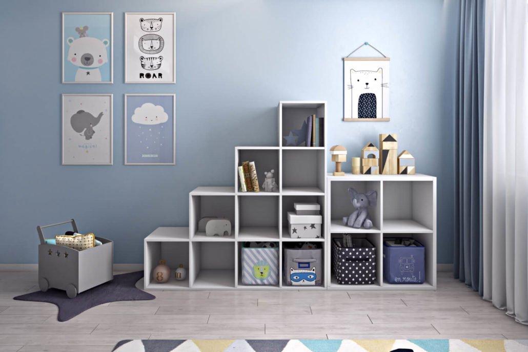 Дизайн функциональной детской комнаты