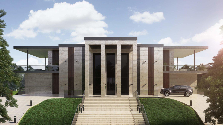 Проект стильного современного дома