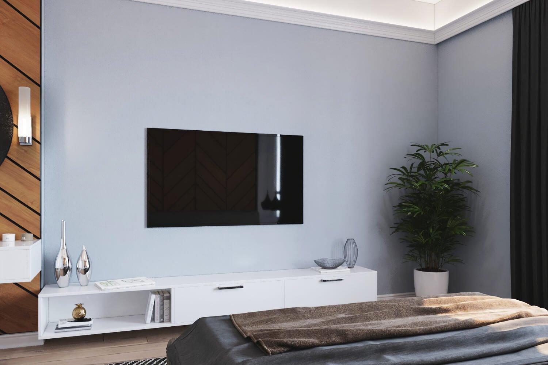 Живые растения в интерьере стильной комнаты