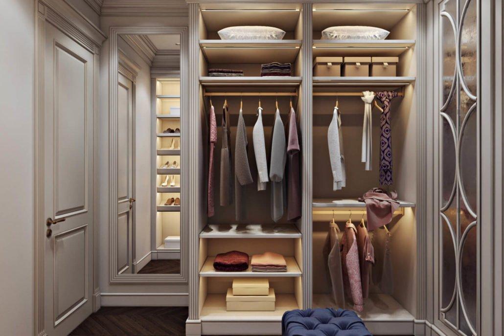 Корпусная система хранения для гардероба