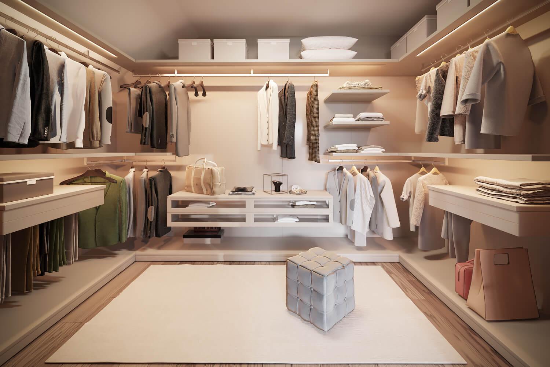 Модульная система хранения для гардероба